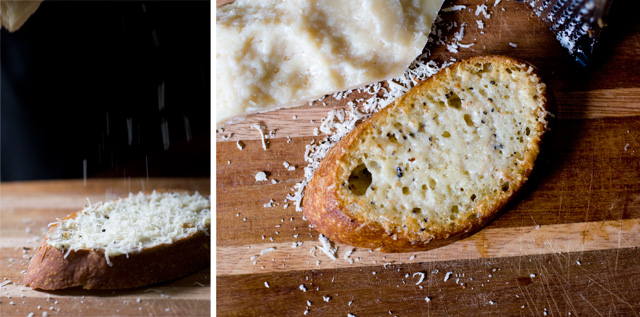 Truffle Butter Parmesan Cheese Bread