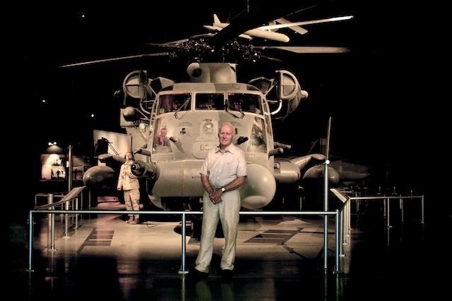 Roy and His H53 Hercules Helicopter