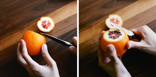 Paring an Orange Peel