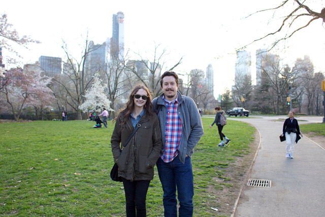 cody and courtney in central park