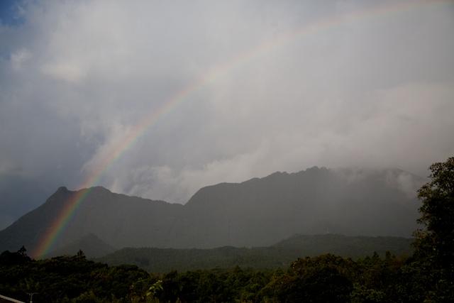 yakushima rainbow