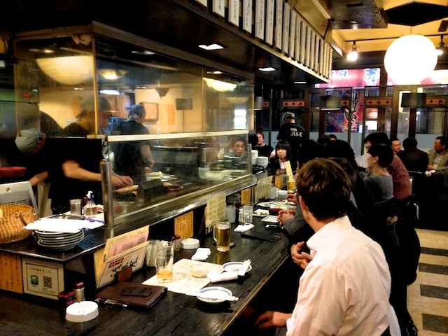yakitori counter