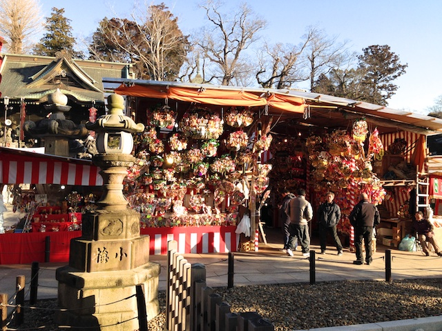 Narita Temple New Year Market