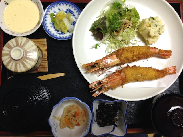 big shrimp in tanegashima