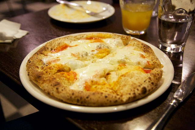 pizza at Il Mare