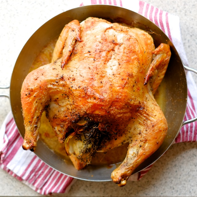 roast chicken with gravy