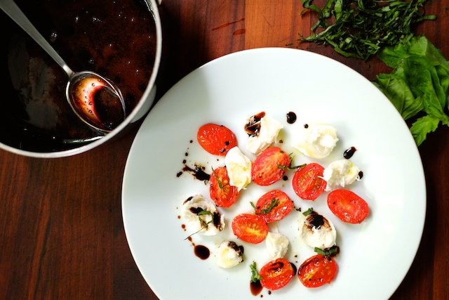 Sauce Series in Practice – Roasted Tomato Caprese Salad ...