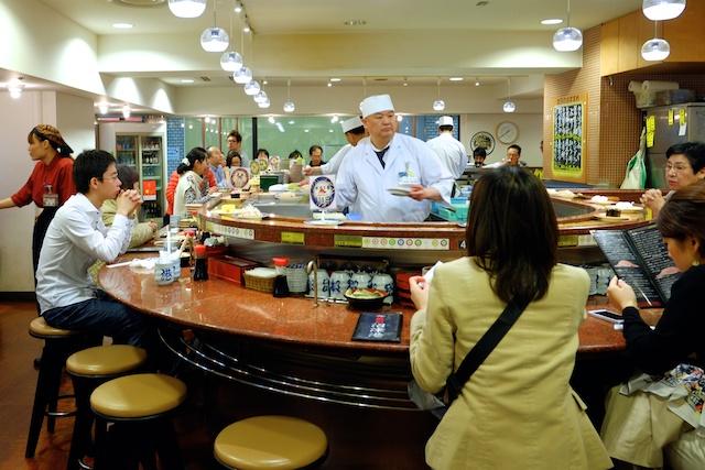 tokyo conveyer belt sushi