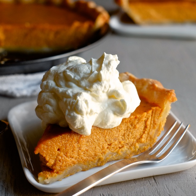 Pumped-Up Pumpkin Pie