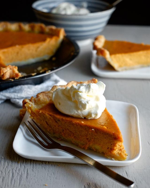 Pumped-Up Pumpkin Pie