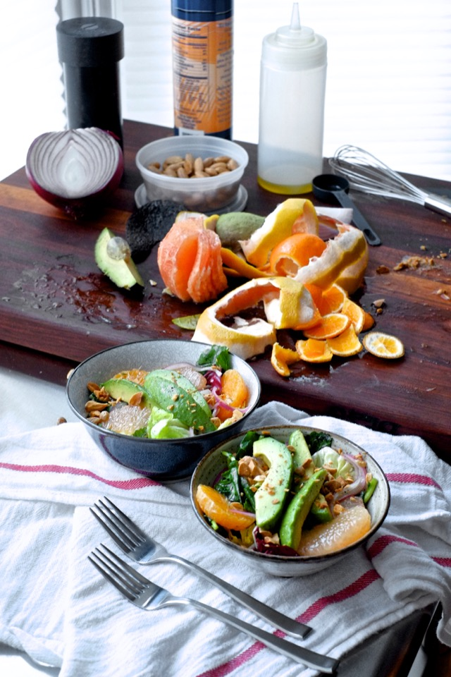 Winter Salad With Citrus and Avocado
