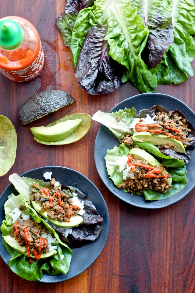 Freezer-Friendly Korean Lettuce Wraps